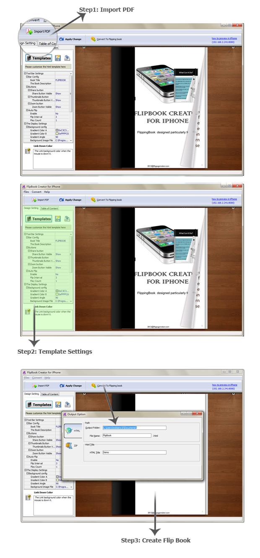 FlipBook Creator for iPhone