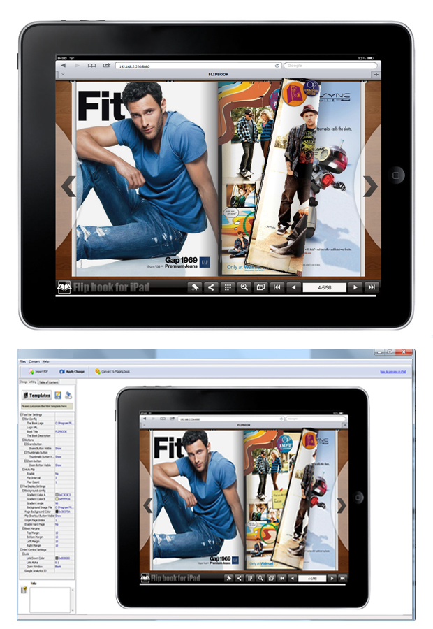 Windows 7 FlipBook Creator for iPad 1.6 full