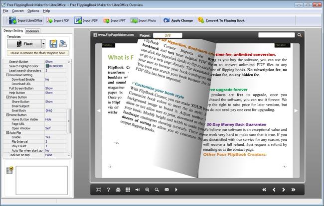 FlipPageMaker Flipbook Maker for LiberOffice – free