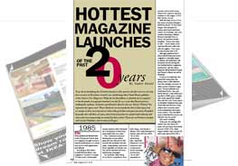 hottest magazine launches
