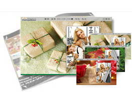 Christmas Gift theme of templates help quick building page-flipping books