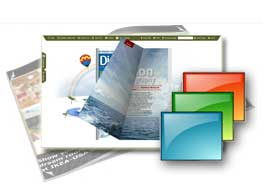 free pure-water templates help you quick create flipping online publications.