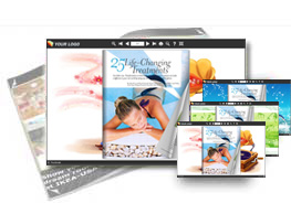 Note theme of templates help quick building page-flipping books