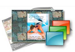 stone wall free templates for FlipBook Creator (Pro)