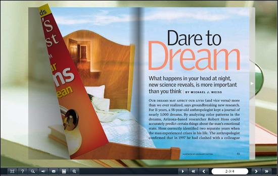 flash page flip book