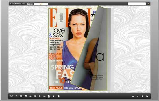 PDF to flash flip digital publishing